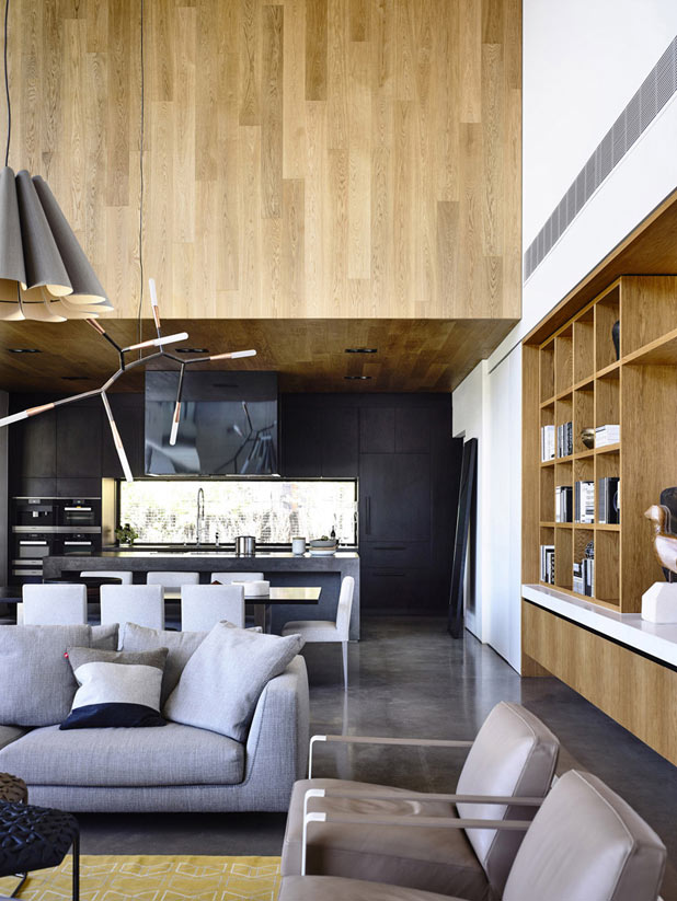 A stylish but cozy ambience.
