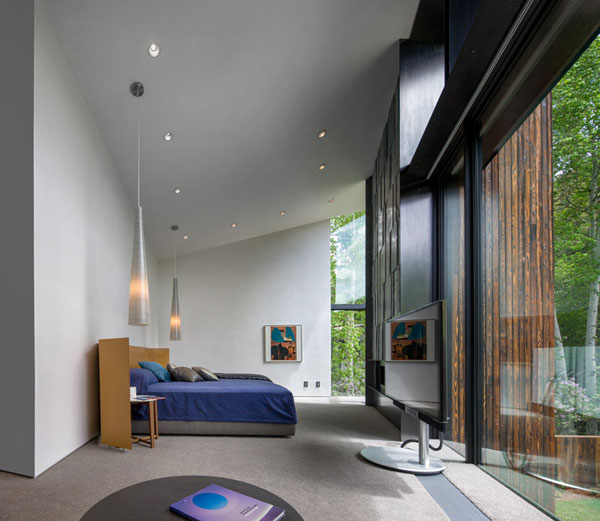The master bedroom of the house.