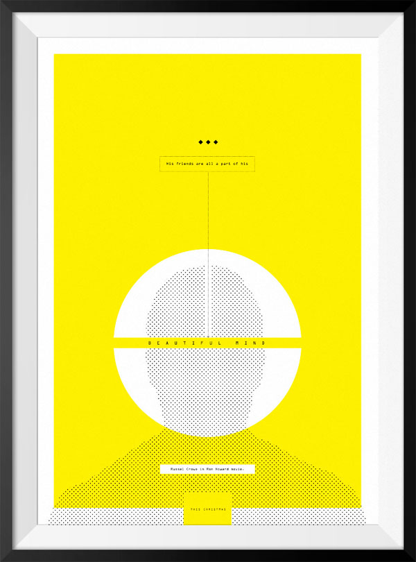 70 Powerful Examples of Minimal Movie Poster Designs