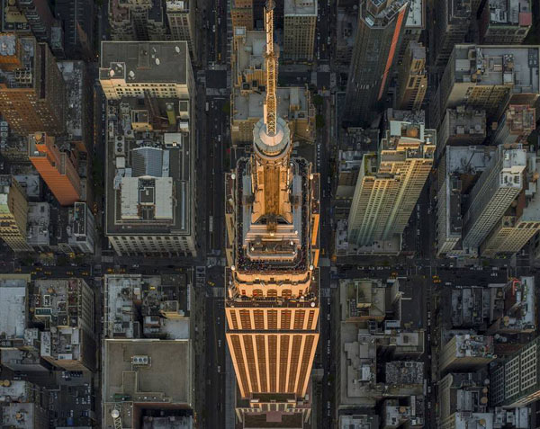 New York City Aerial Photography by Jeffrey Milstein