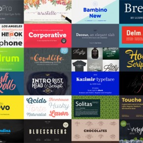 Best Fonts 2015 - List of Best Font Releases