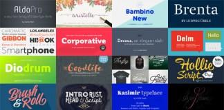 Best Fonts 2015