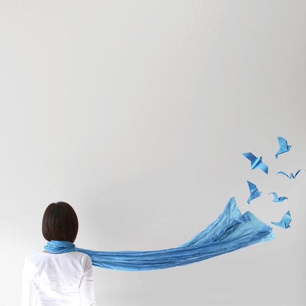 Blue - Conceptual images by Peechaya Burroughs.