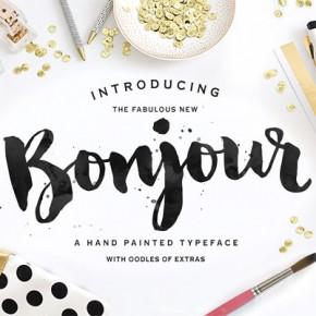 Bonjour Typeface