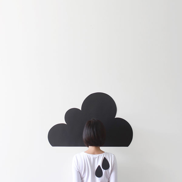 Cloudy - Work from a human related series of conceptual photographs.