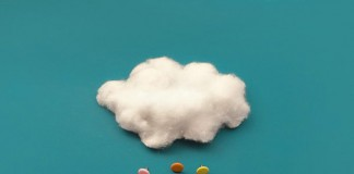 Conceptual images arranged with everyday objects.