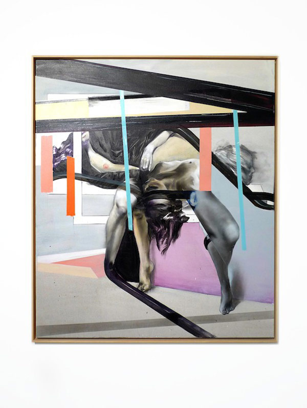 Contemporary painting - framed artwork by Jaybo Monk.