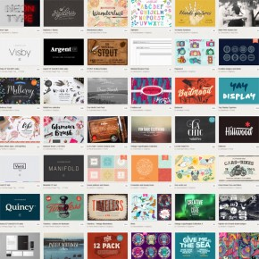 Creative Market's July 2015 Big Bundle