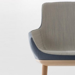 EGO Asymmetrical Armchair from Alegre Design