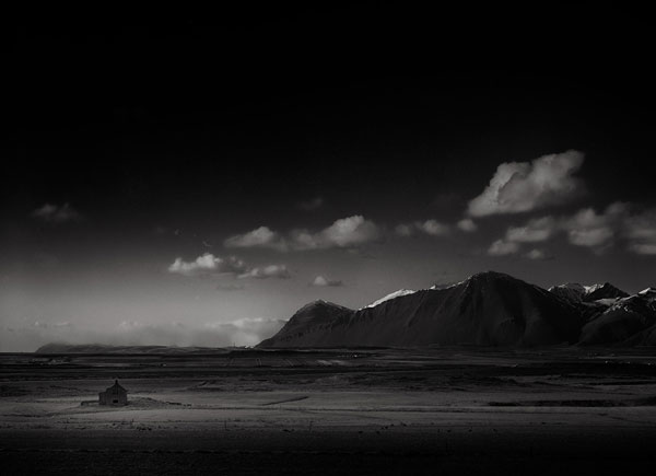 Iceland - dark landscape photography.