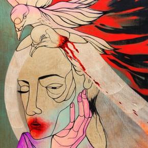 Jennifer Caviola aka CAKE at The Untitled Space, NYC
