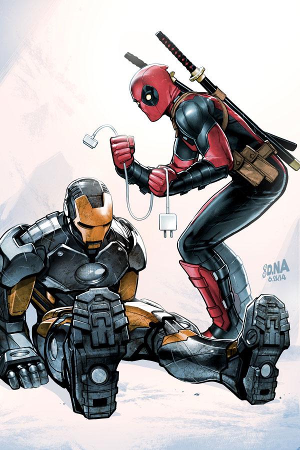 Marvel comics cover artworks by david nakayama - Comics dessin ...