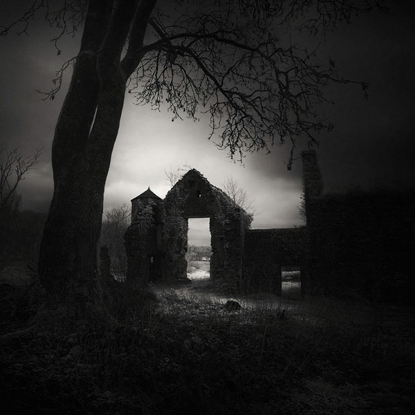 Monastery Cresselly - photograph with an eerie atmosphere.