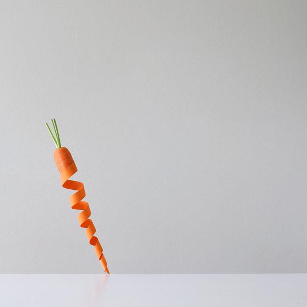 Orange Twist - Peechaya Burroughs, a Sydney, Australia based photographer is playing with food.
