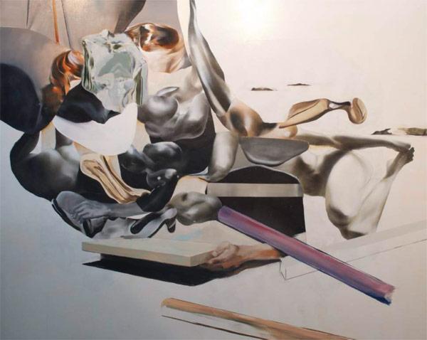Painting by Jaybo aka Monk.