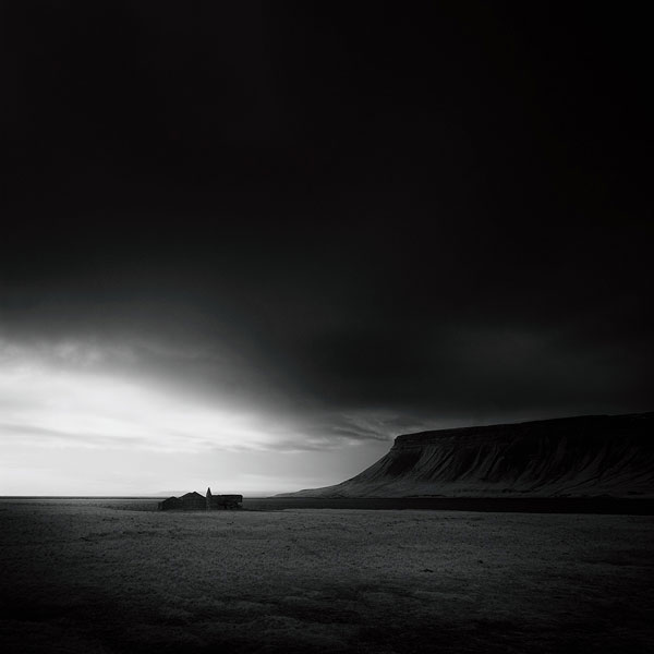 Snæfellsnes Peninsula - landscape photo from a series of abandoned building and places.