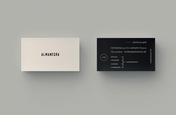 Almanegra – Coffee Bar Branding by Estudio Yeyé
