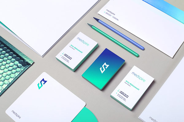 Well designed branding materials created by Foxtrot Studio.