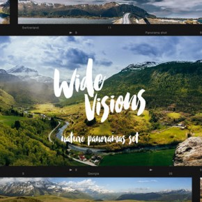 Nature Panoramas of Breathtaking Landscapes for Download