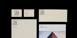 443 Greenwich, Identity system and take away for prospective buyers designed by New York City based graphic design studio, Pentagram.
