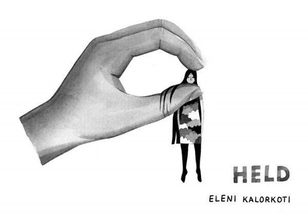 Held – illustration series by Eleni Kalorkoti.
