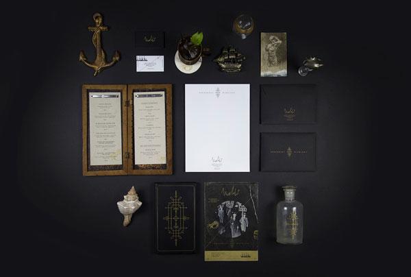Malahat Speakeasy & Mixology – bar identity by agency Bienal.