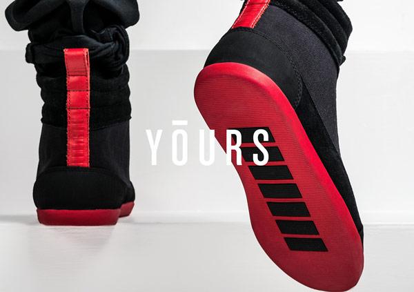 YOURS Footwear Fashion Brand Identity