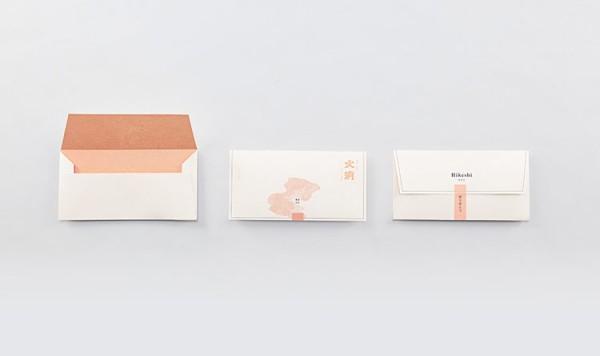 Special designed envelopes.