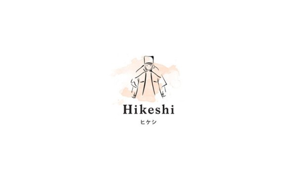 Logo deign by studio futura for Hikeshi, a high quality clothing line that belongs to the Japanese fashion brand, Resquad.