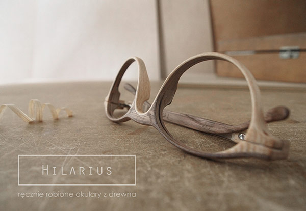 Super stylish and very trendy wood frame glasses made by hand.