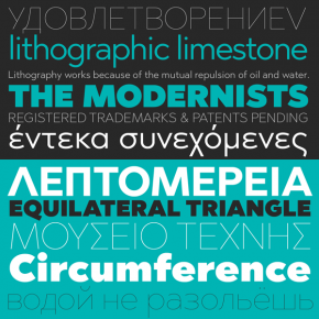 Abrade Font Family for Multi Language Support