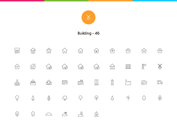 Download 2061 Nano Line Icons (AI, EPS, SVG Vector Files)