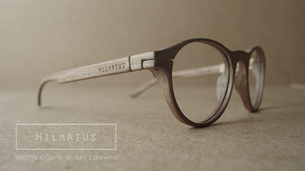 Hilarius is a small Polish brand specializing in handmade wood frame glasses.