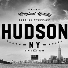 Hudson NY Font from Andrew Footit