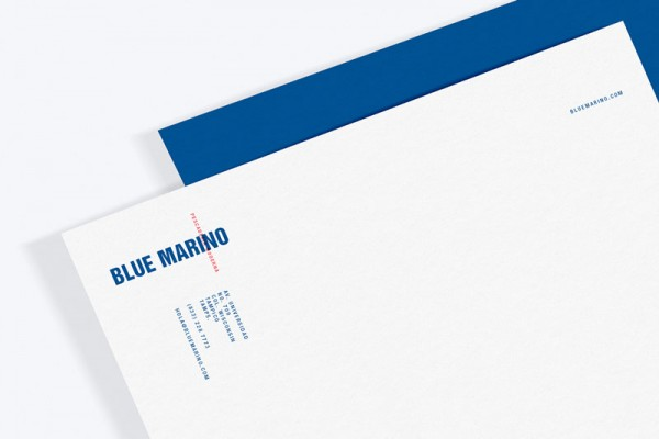 Letterhead design with logo and contact information.