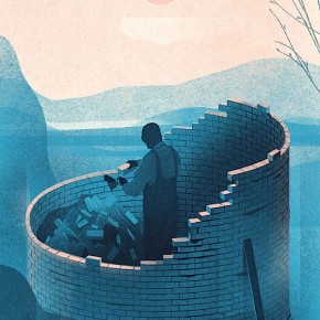 Forbes Japan - Editorial Illustrations by Karolis Strautniekas