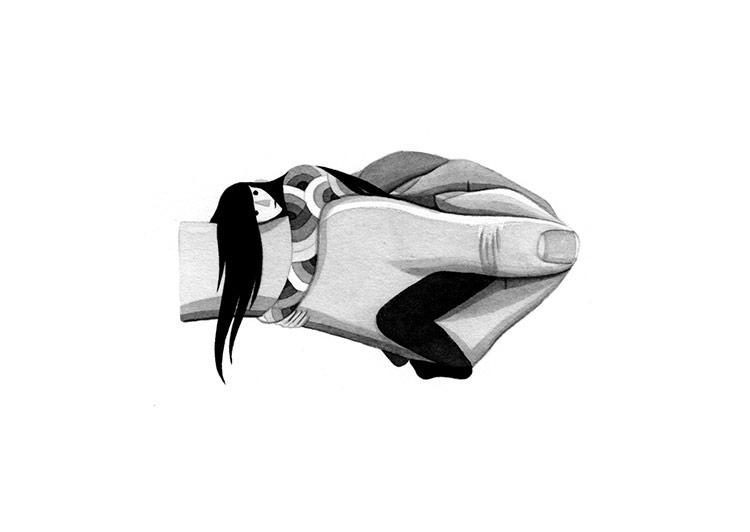 Held – Illustration Series by Eleni Kalorkoti