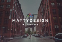 Matty, a powerful and very flexible WordPress theme for highly professional purpose.