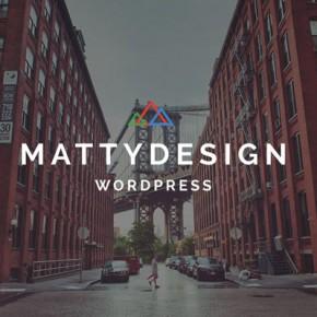 Matty WordPress Theme with 29 Ready-To-Use Modules