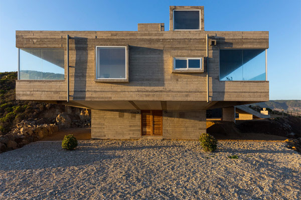 The Mirador House has been designed by the team of Gubbins Arquitectos.