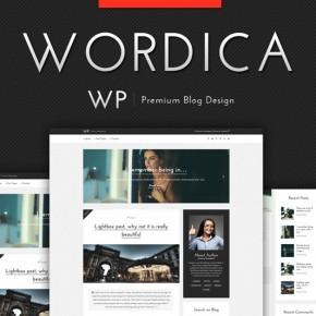 Elegant WordPress Blog Theme from Wordica