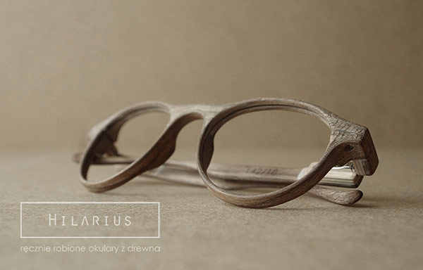 Hilarius Handmade Wood Frame Glasses