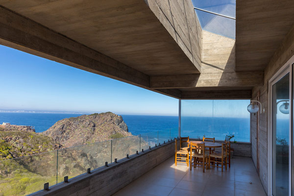 This Residence offers truly incredible views of the sea.