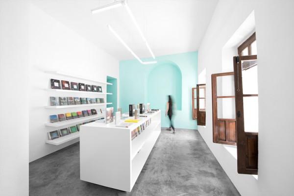 Conarte Library in Monterrey, Mexico.