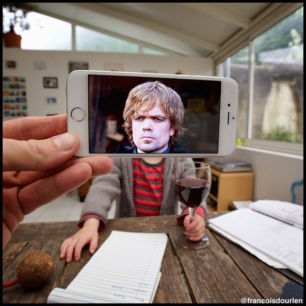 Little but angry Tyrion of Games of Thrones. Photo taken by Francois Dourlen.