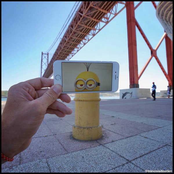 Look, one of the Minions.