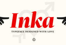 The Inka font family, a typeface by Samuel Čarnoký of foundry Carnoky Type.