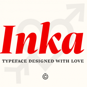 Inka Font Family from Type Foundry Carnoky Type