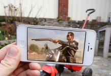The mighty Terminator on a tricycle for little children.