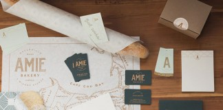 Amie Bakery – branding and packaging design by Benji Peck.